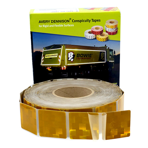 สติ๊กเกอร์ติดรถบรรทุก Avery V-6791 สีเหลือง